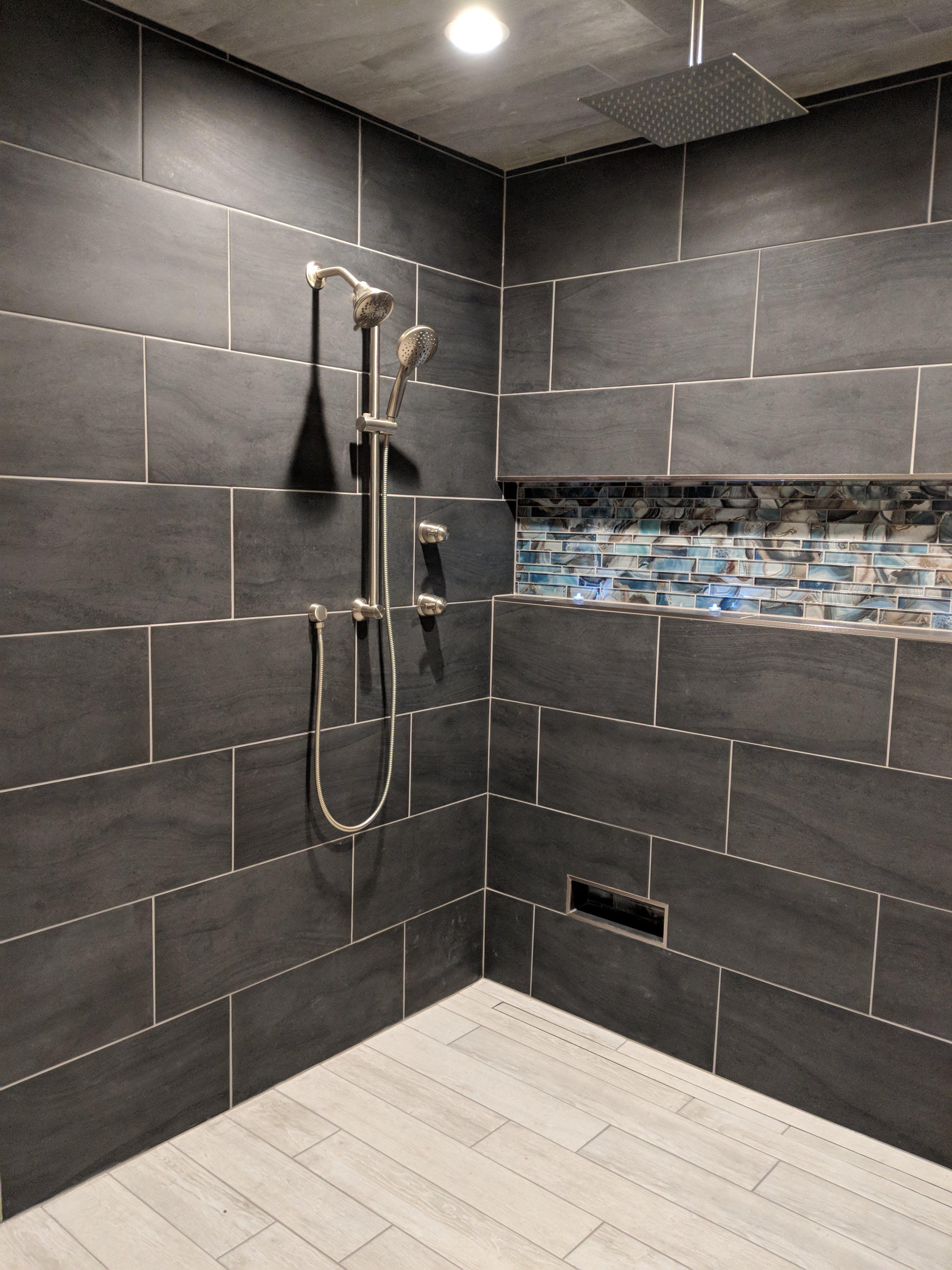 Moen Fixtures Rothbury Valve Wall Tile Nova Bella Crossover Nero Tile Ceiling Nova Bella Crossover Argento Niche Magical Fo Shower Tile Renovations Design