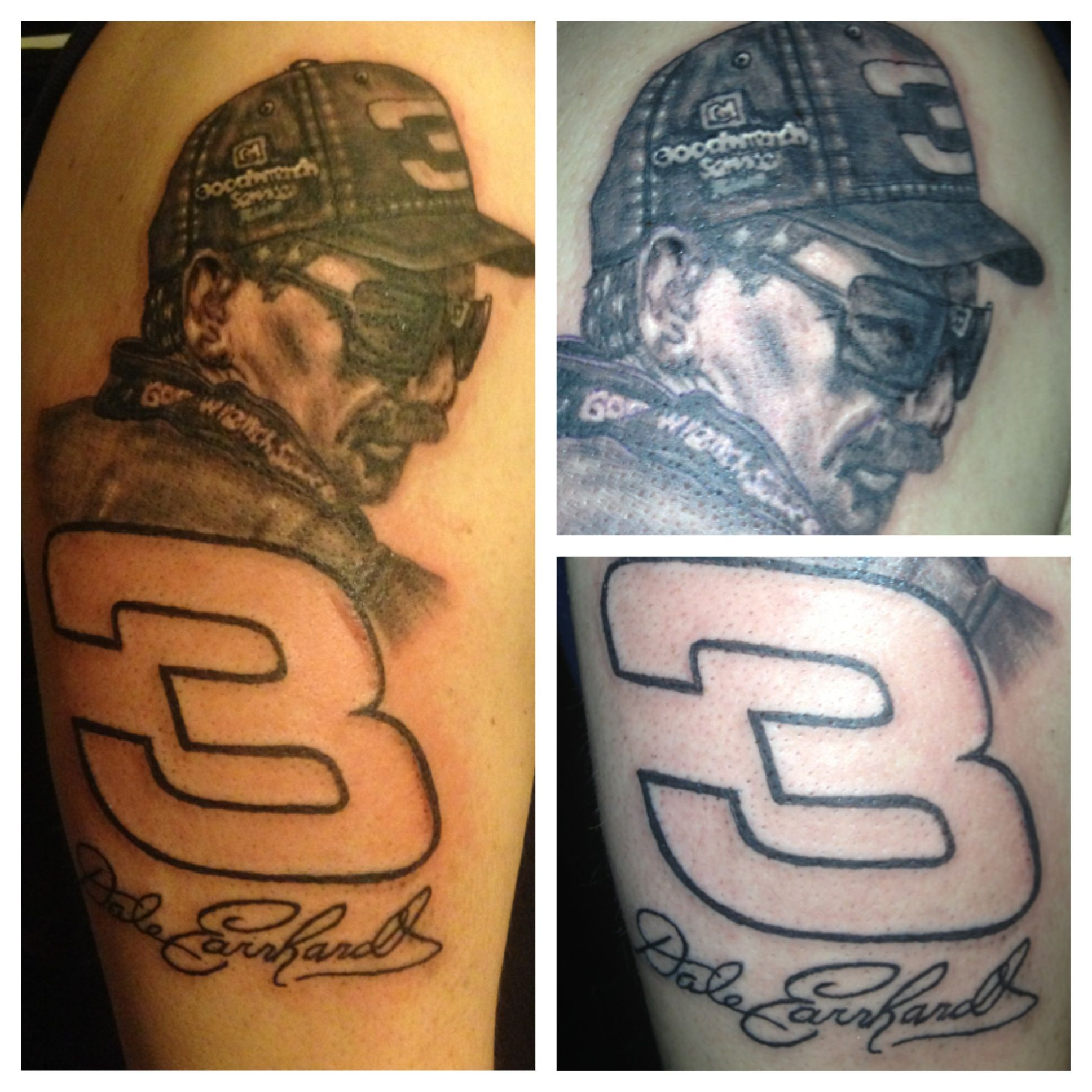 Route 66 tattoo picture at checkoutmyink com - Dale Earnhardt Sr Tattoo