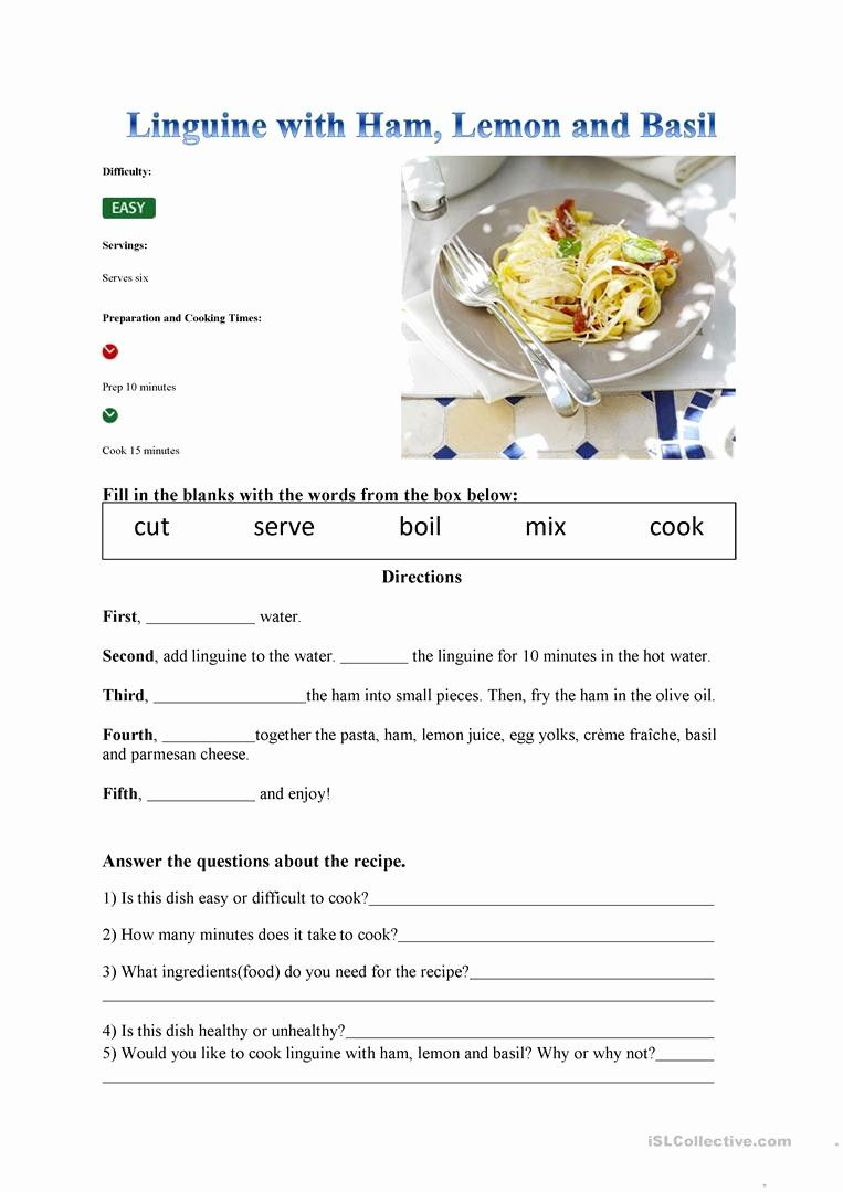 Predownload: 50 Basic Cooking Terms Worksheet Answers Chessmuseum Template Library Reading Comprehension Worksheets Comprehension Worksheets Reading Worksheets [ 1079 x 763 Pixel ]