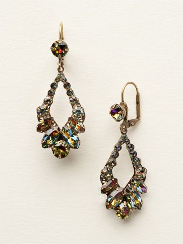Adornment Earring in Volcano by Sorrelli - $85.00 (http://www.sorrelli.com/products/ECQ29AGVO)