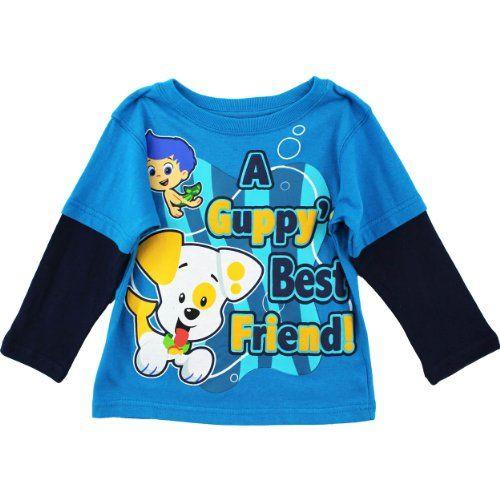 "Nickelodeon Bubble Guppies ""Guppies BF"" Turquoise Toddler L/S Layered T-Shirt (4T) Nickelodeon http://www.amazon.com/dp/B00GJSDOB4/ref=cm_sw_r_pi_dp_eUk2wb10113MJ"