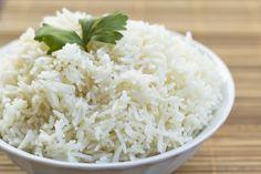 como hacer arroz hervido de dieta