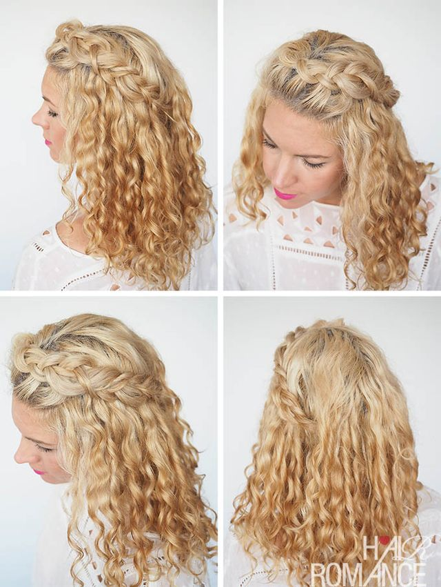 30 Curly Hairstyles In 30 Days Day 2 Hair Romance Curly Hair Styles Naturally Hair Romance Curly Hair Styles