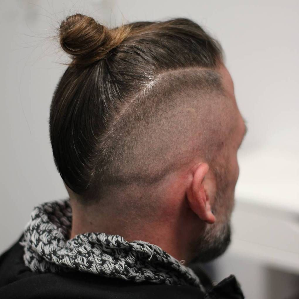 sexy man bun styles you need to know in long hair styles