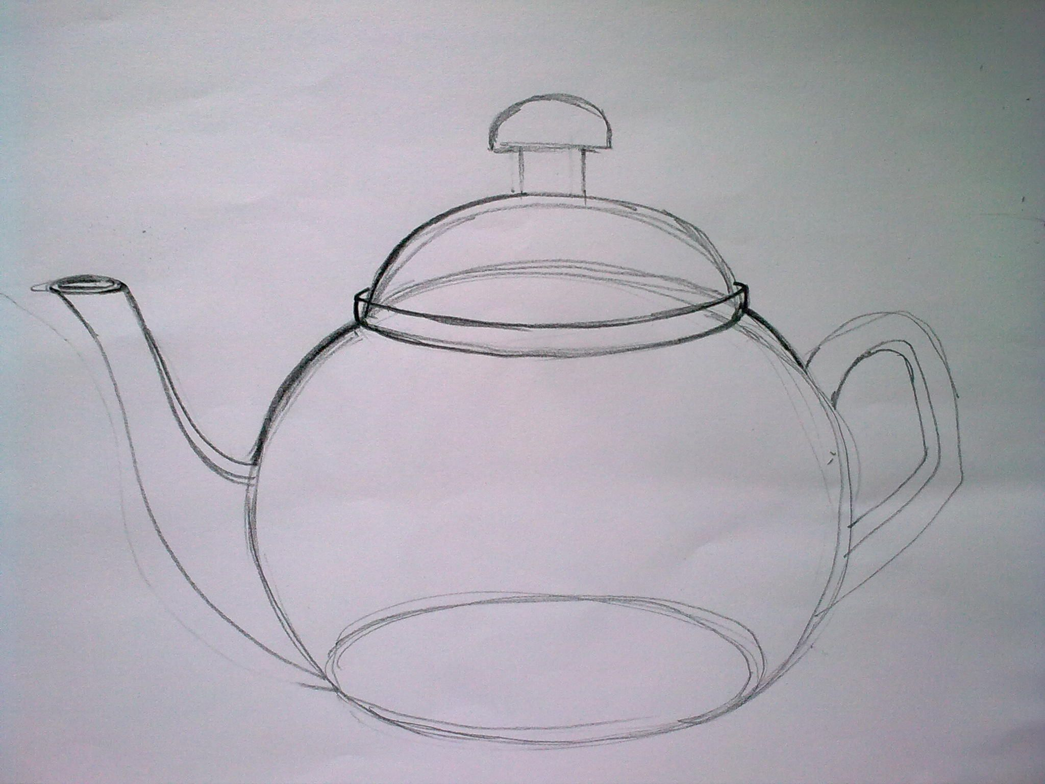 Details on how to draw a teapot