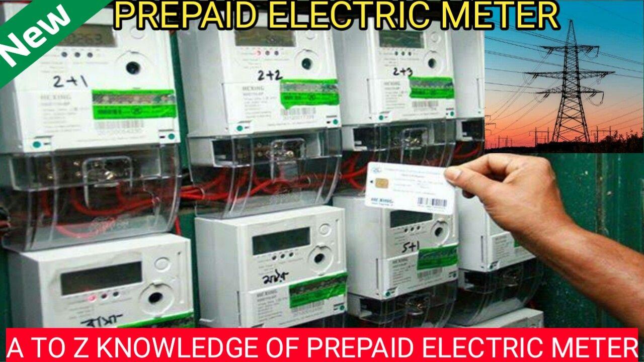 Pin On Prepaid Electric Meter