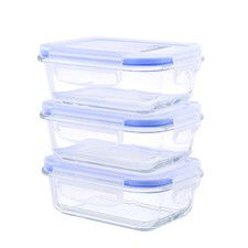 Glasslock Food Storage Container Sets Go Green Glasslock Elements Food Storage Container Set Of 3  Move