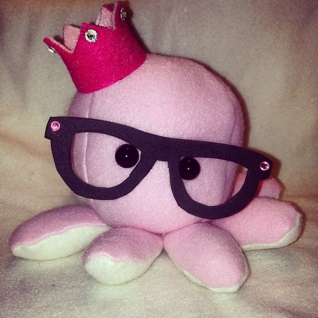 Cute and adorable handmade Octopus