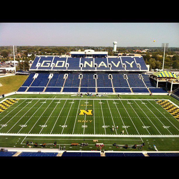 Navy Football Vs Vmi Navy Football Go Navy Football Stadiums