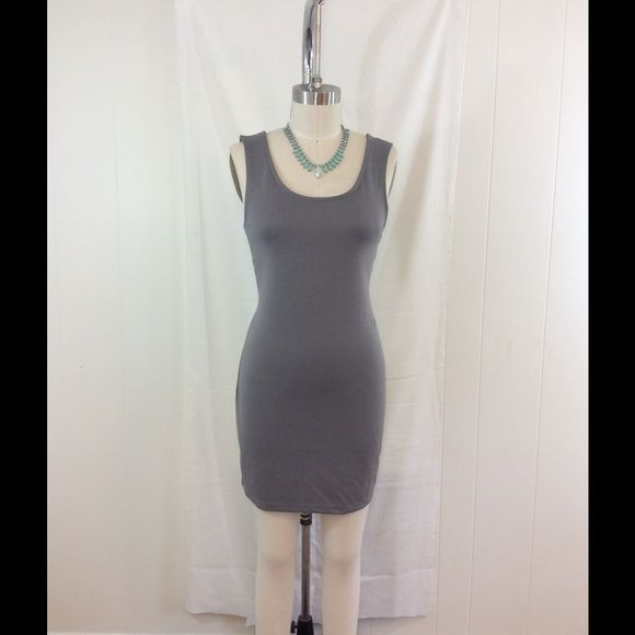94c9a6ee26 Medium Gray Planet Gold Couture Bodycon Dress Lg Gray