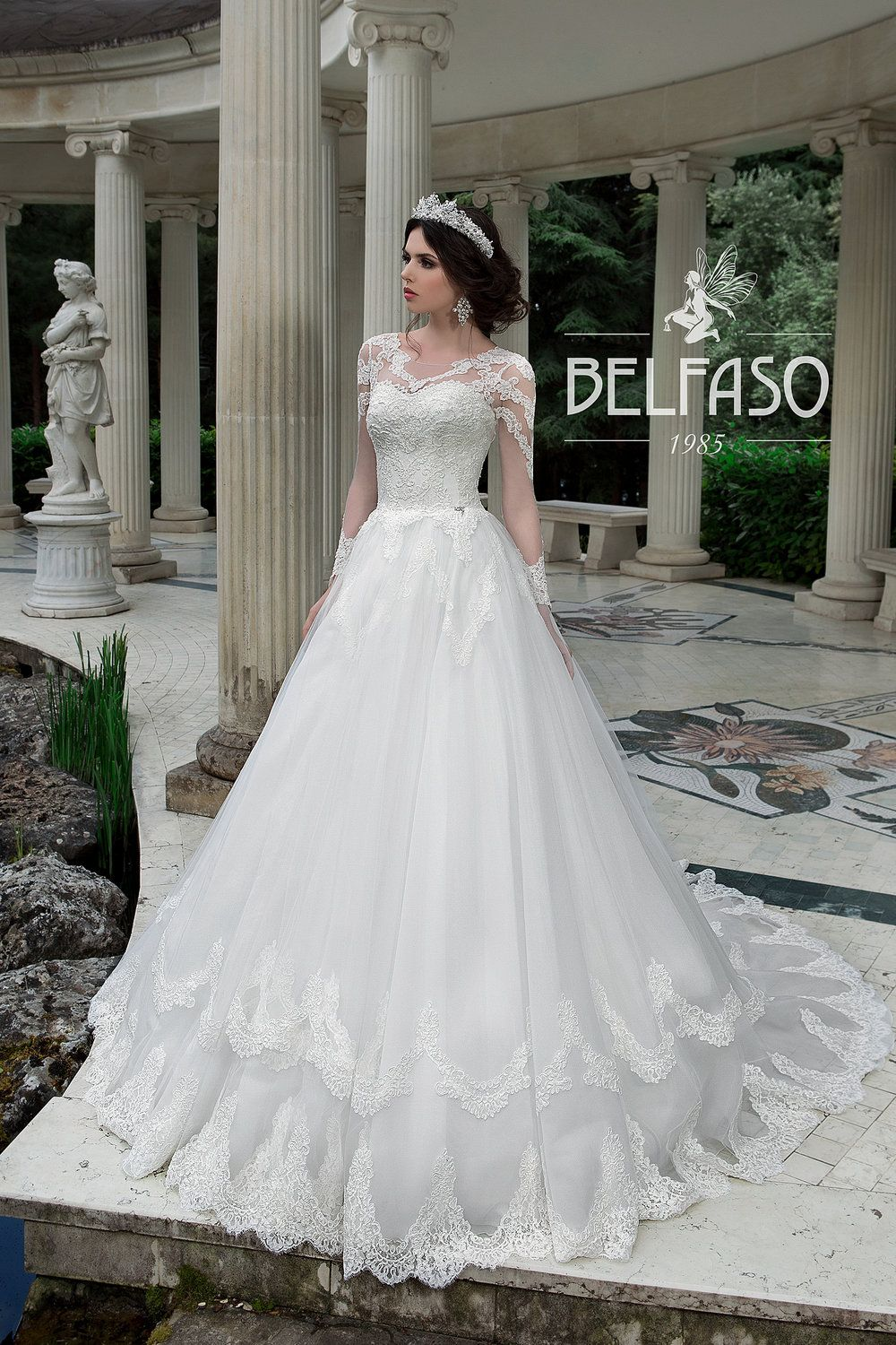 Sabira wedding dress by belfaso wedding dresses in