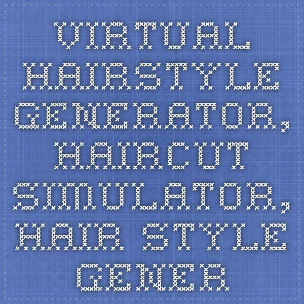 Virtual Hairstyle Generator Haircut Simulator Hair Style Generator