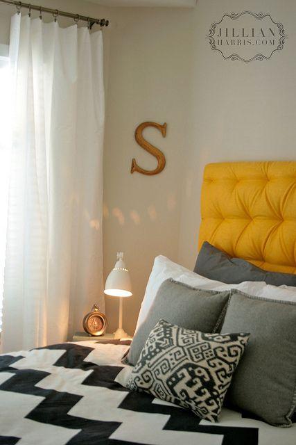 DIY headboard! Homey Pinterest Couleurs chambre, Chambres et