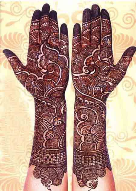 Latest Bridal Mehndi Designs 2017 2018 In India And Stan