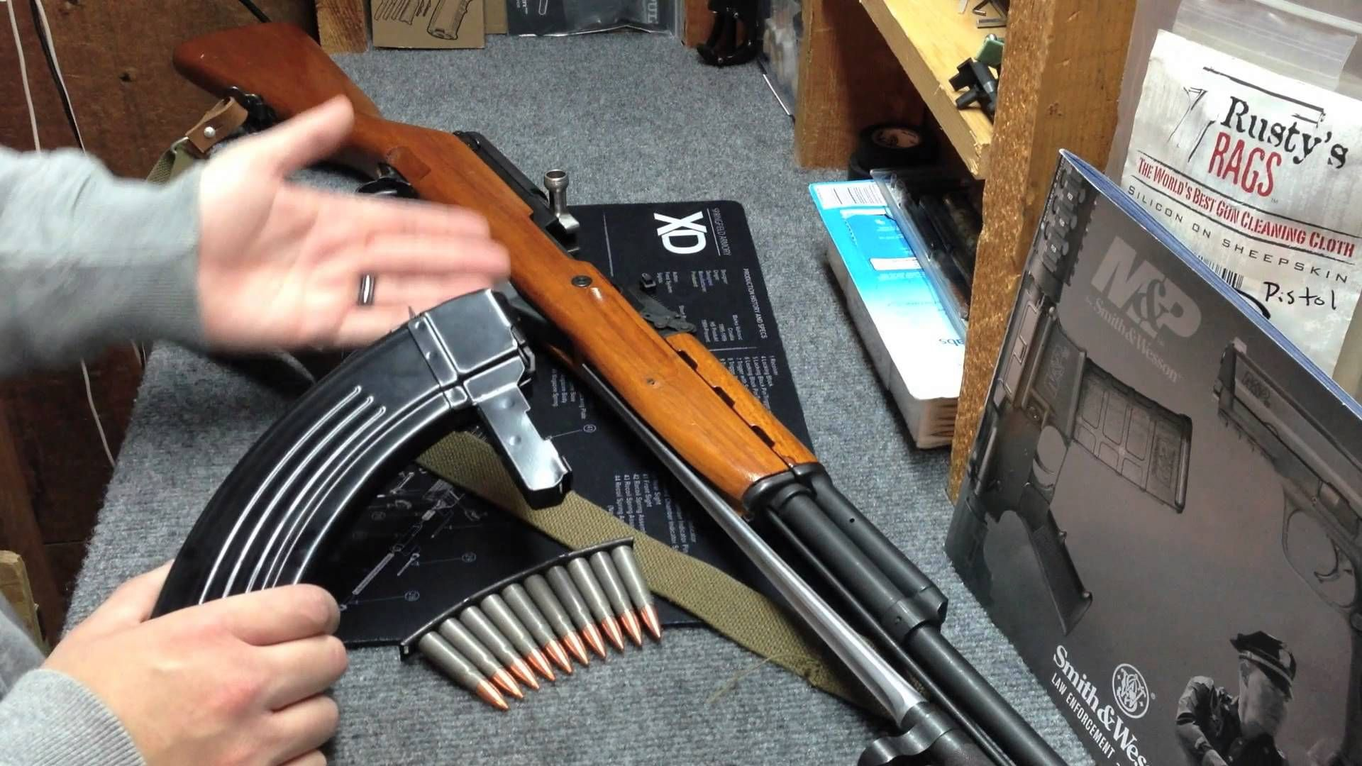 """How to install a 30 round mag in the SKS - Turn your SKS into a real """"as..."""