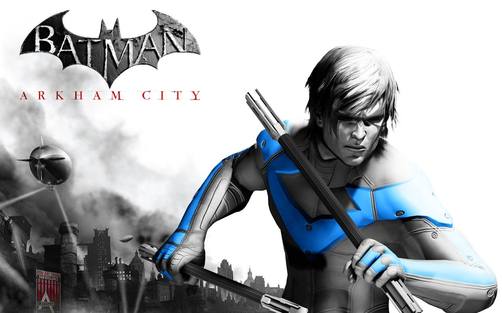 Showing Post Media For Batman Arkham City Nightwing Symbol Www