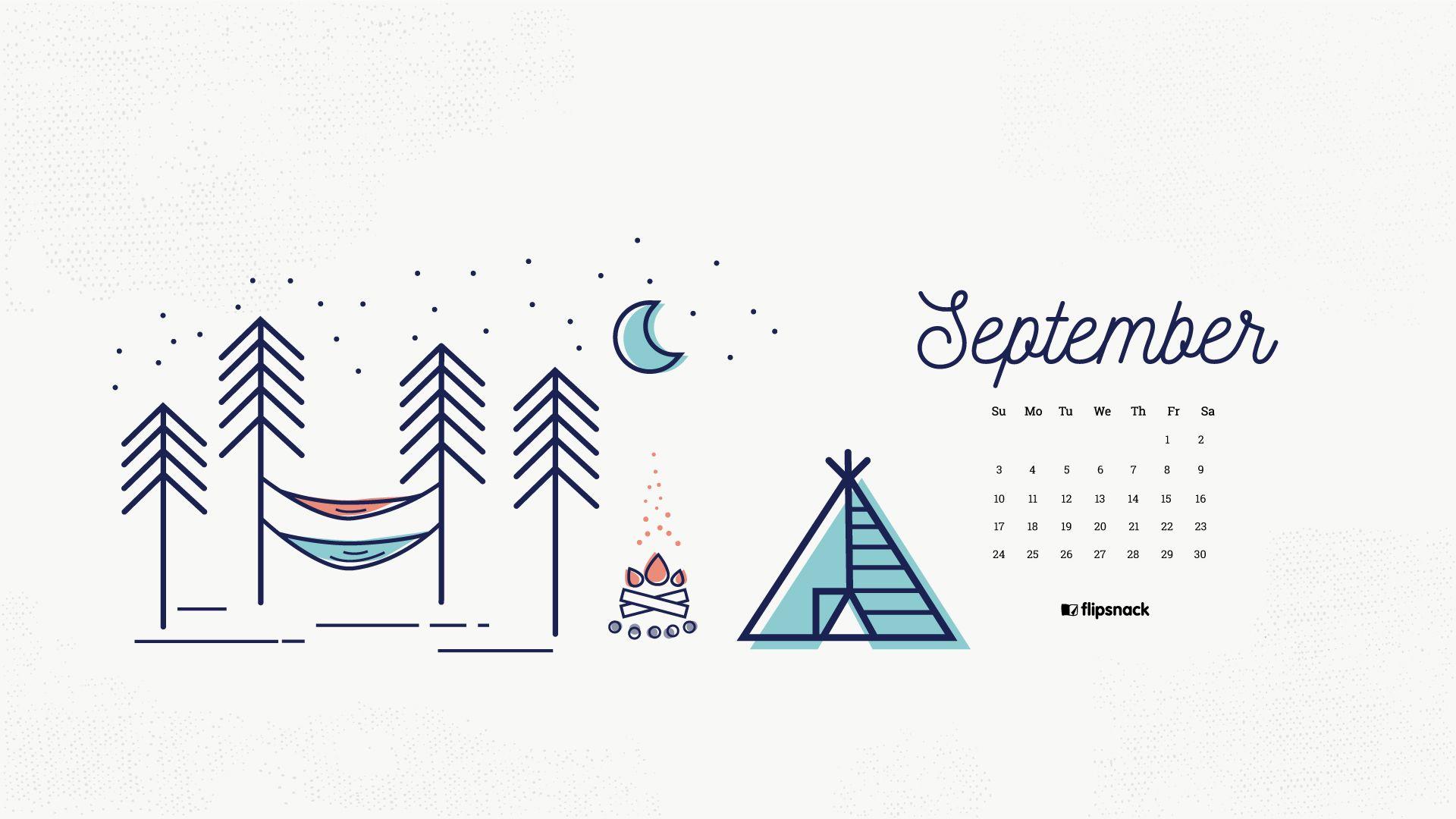Your September 2017 Calendar Wallpaper Is Here Get It