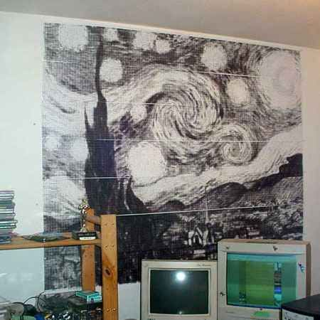Wall Art Generator Rasterbator Art Art Projects Wall Art
