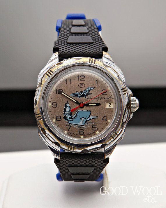43ade4ffcaa5 vintage russian vostok watch - us seller - komandirskie - 2414A ...