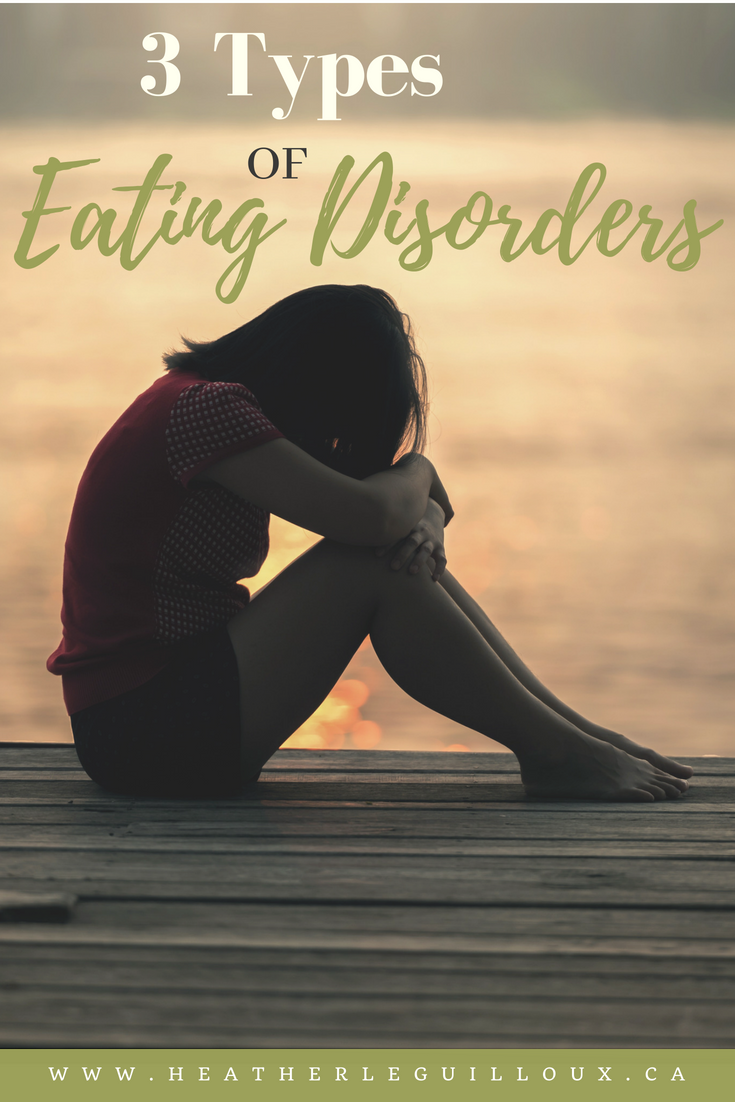 the three types of eating disorders These guys can eat three lettuce leaves at a buffet and receive praise they would never dream of eating a salad & don't get the celery hype i actually have two gym memberships, i have bipolar disorder, c-ptsd, and gad.