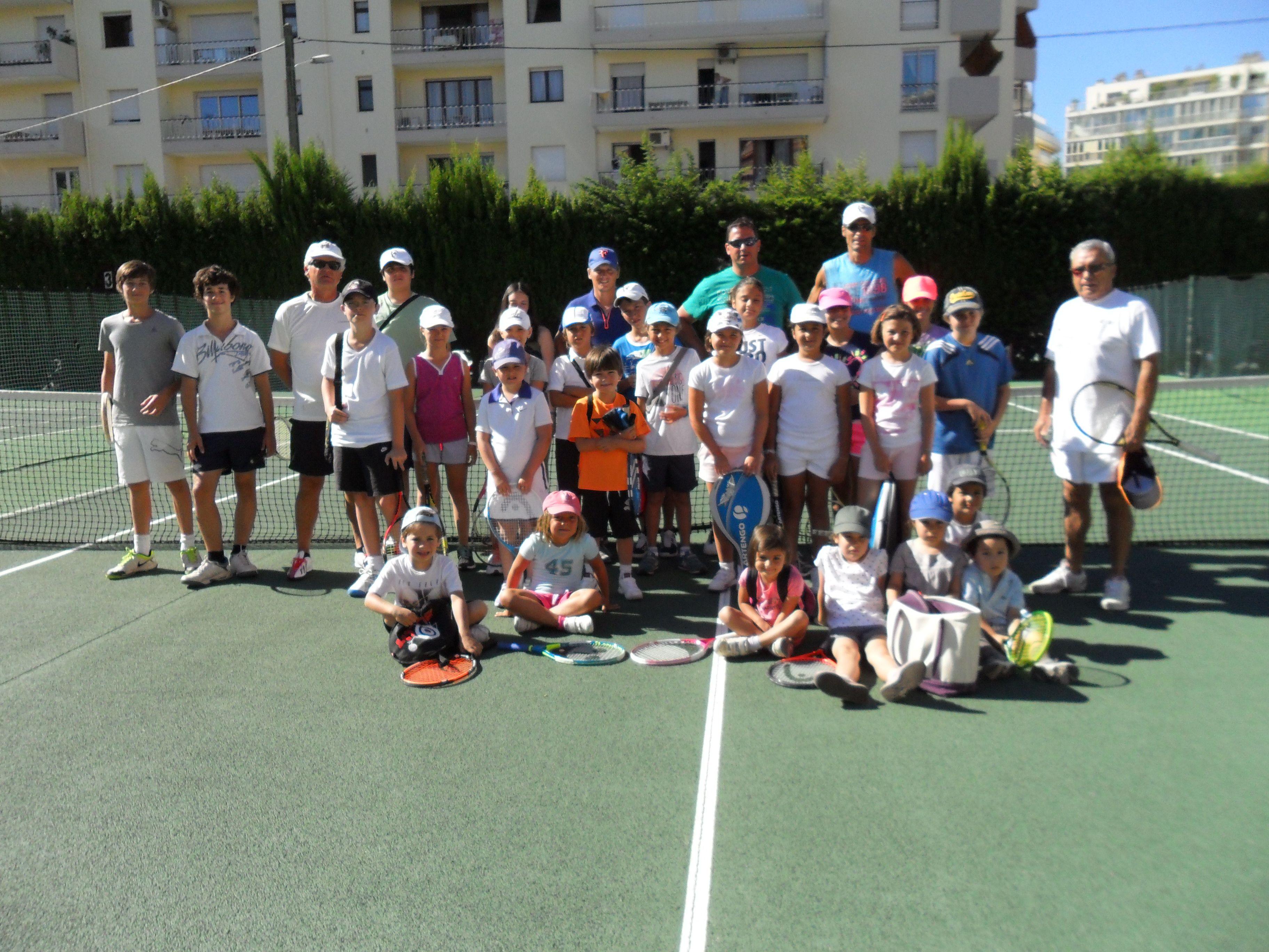 Été 2013 Stage tennis - Cannes Tennis Club