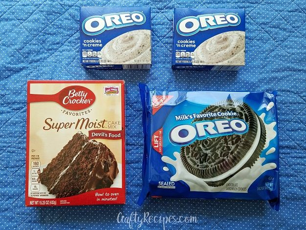 Here S One Of My Favorite Desserts To Make That Only Takes 4 Ingredients My Husband Always Has To Have S Oreo Pudding Oreo Recipes Devils Food Cake Mix Recipe