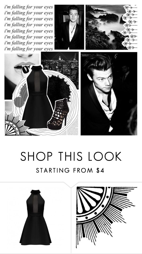 """I'm falling for your eyes"" by smery09 ❤ liked on Polyvore featuring New Look"