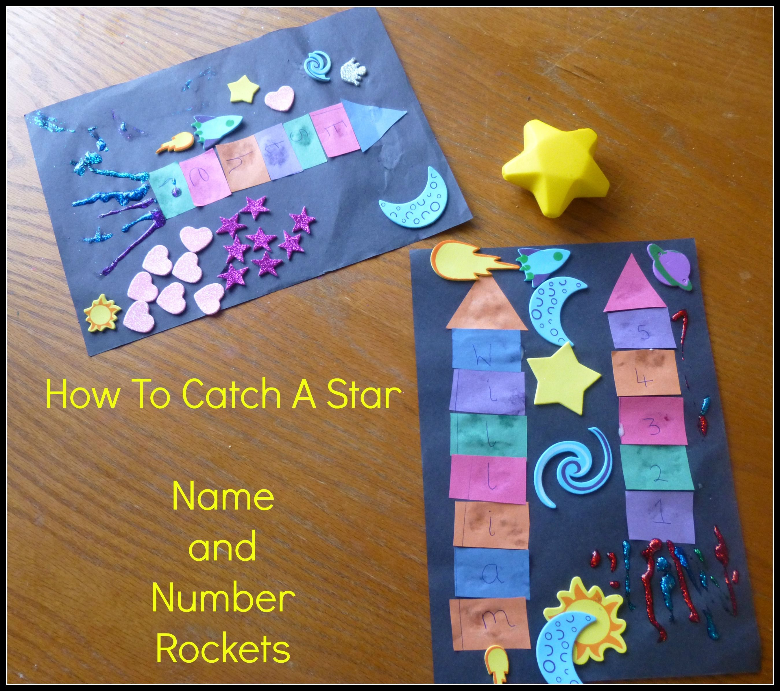 In the oliver jeffers story how to catch a star a little