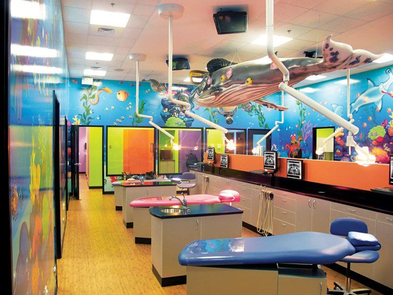 Dental Office Wall Decor Doesnu0027t Get Much Better Than All Of These  Multicoloured Creations. Why Not Dive Right In And Re Think Your Dental  Clinic Design?