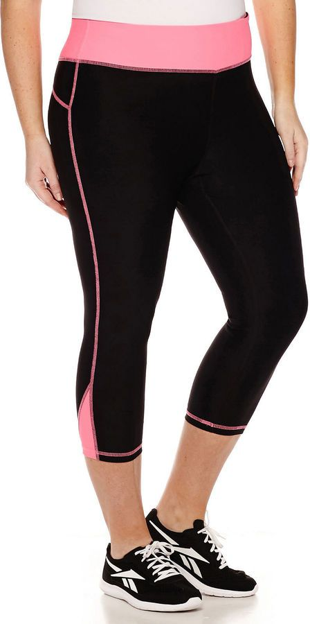 xersion mesh capri leggings - plus ** you can find more details by