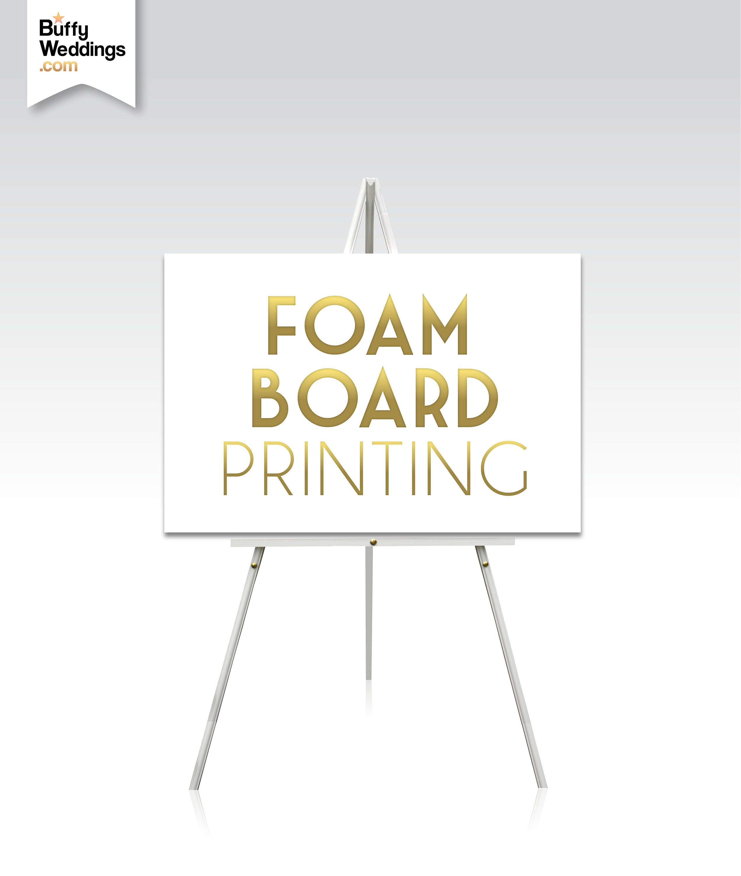 Print On Foam Board Email Your Artwork Or Add A Custom Design Premium Printing Archival Inks Add An Easel To Your Order Foam Board Printing Foam Board Prints