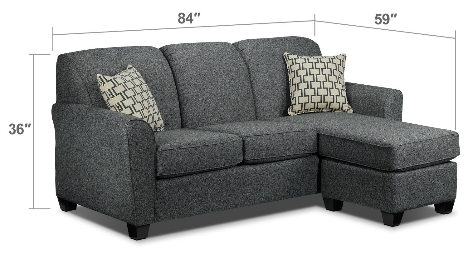 Excellent Ashby Chaise Sofa Grey Leons For The Home Chaise Andrewgaddart Wooden Chair Designs For Living Room Andrewgaddartcom
