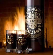 Rīgas Black Balzam. Tasteful. Made out from many, many herbs.     Taste it!
