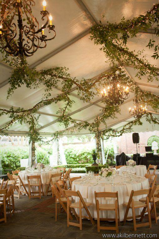 River Oaks Garden Club Houston Tx Wedding Decorations Tent