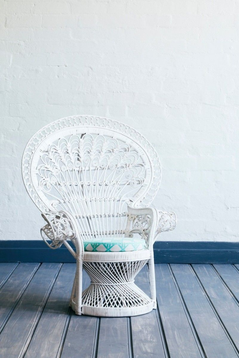 Child Peacock Chair White The Family Love Tree Kids Rooms