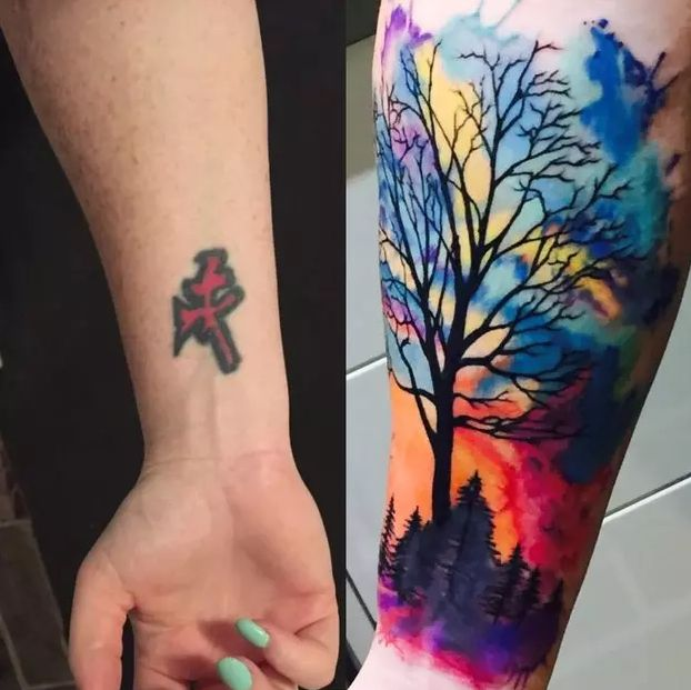 16 Insane Before And Afters That Prove The Power Of Tattoo Cover-Ups