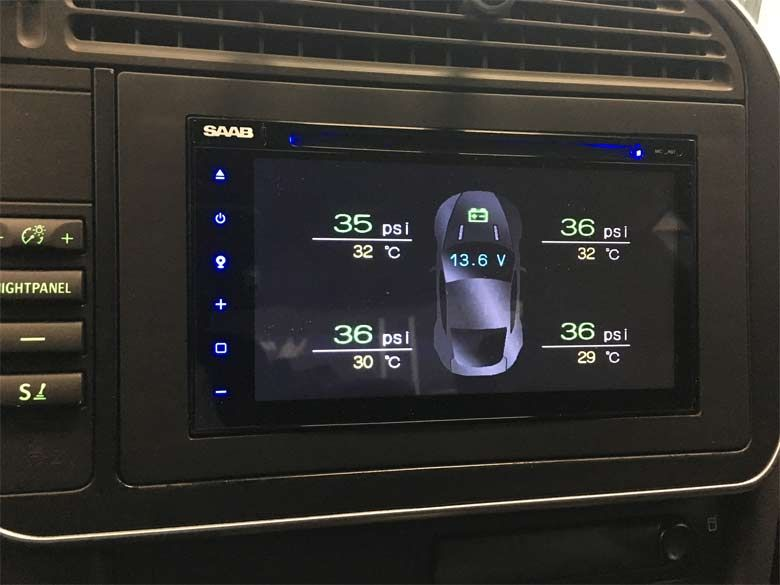 The Custom Multimedia Infotainment System With Navigation For Saab 9 3 My 03 06 Infotainment System Saab Infotainment