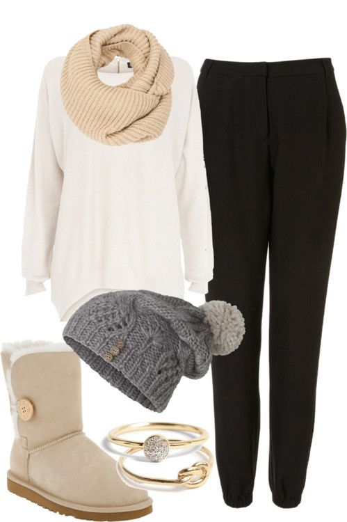 Snow Boots $39 on | Fashion, Casual outfits, Cute outfits