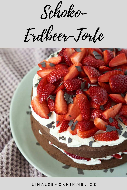 Schoko-Erdbeer-Torte - linalsbackhimmel.de