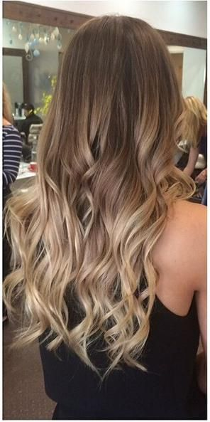 brunette ombre hair color done right hair inspiration pinterest haarfarbe haar und frisur. Black Bedroom Furniture Sets. Home Design Ideas