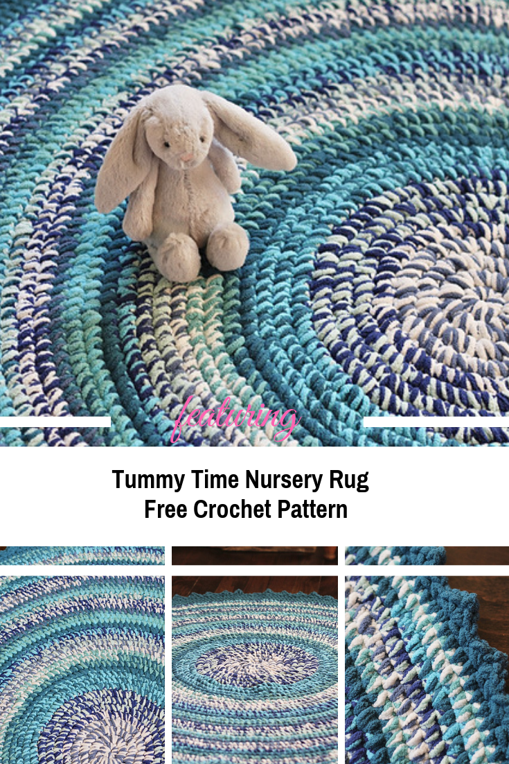 The Perfect Round Crochet Rug Pattern For Nursery Annie Art In 2020 With Images Crochet Rug Patterns Crochet Rug Patterns Free Crochet Nursery Rug