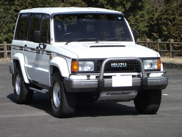 isuzu bighorn/trooper irmscher r | isuzu bighorn/trooper | vehicles