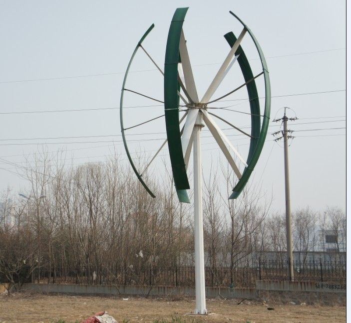 10 Kw Vertical Axis Wind Turbine With 12m Tower Vertical Axis Wind Turbine Wind Turbine Onshore Wind