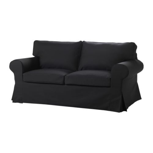 Captivating EKTORP Two Seat Sofa IKEA The Cover Is Easy To Keep Clean As It Is