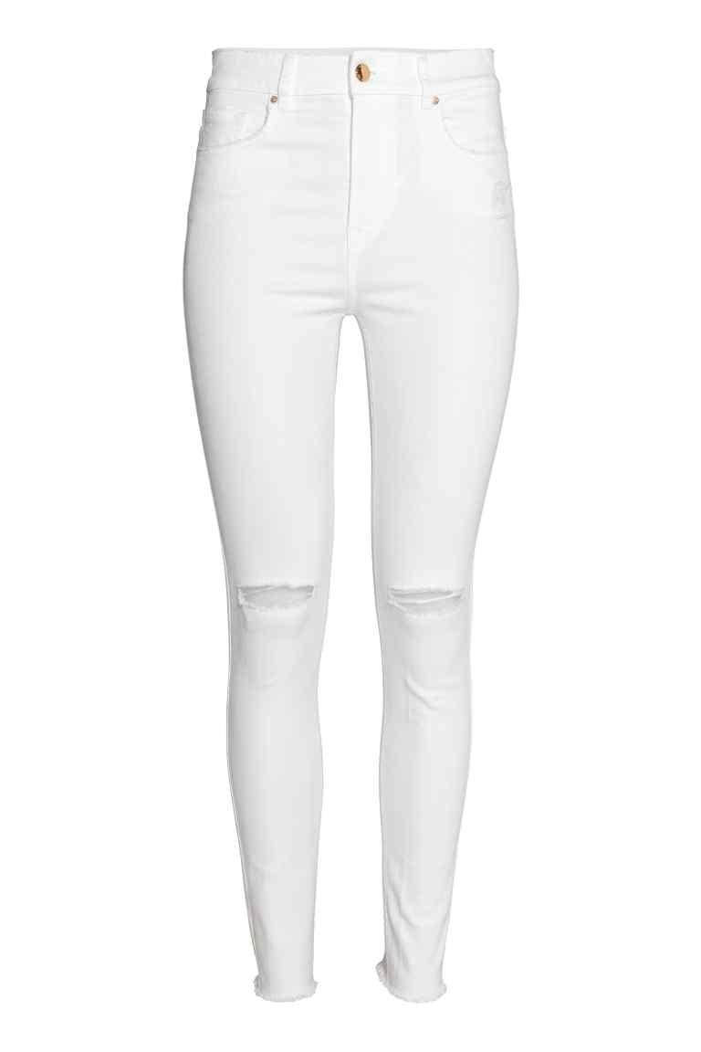 Skinny High Ankle Jeans in 2019   Pantalón   Pinterest   Jeans ... af8fc5fb0c