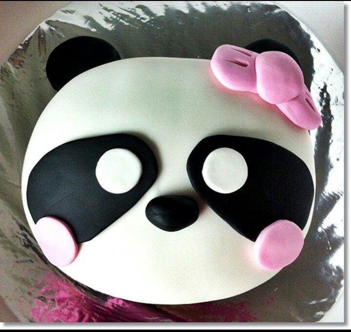Panda cake so cute geburtstagspartys kinder pinterest - Kawaii kochen ...