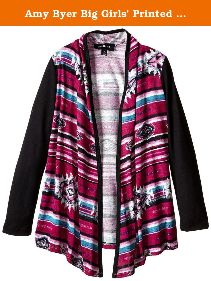 a14ca22bd06 Amy Byer Big Girls  Printed Navajo Sweater