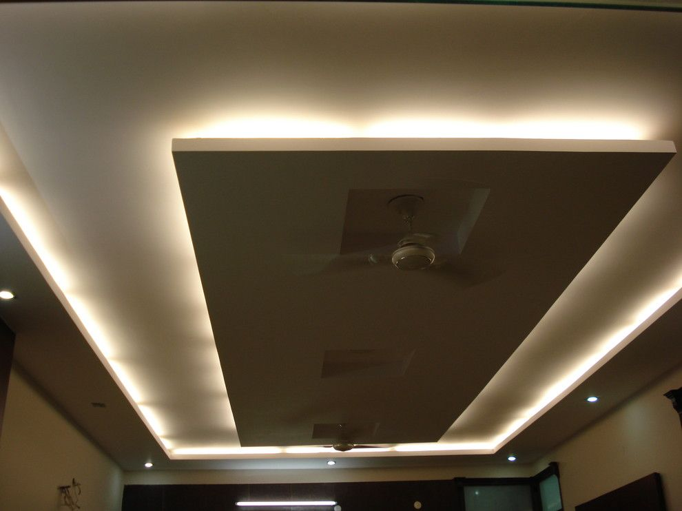 ceiling with hidden rope light - Google Search | house ...