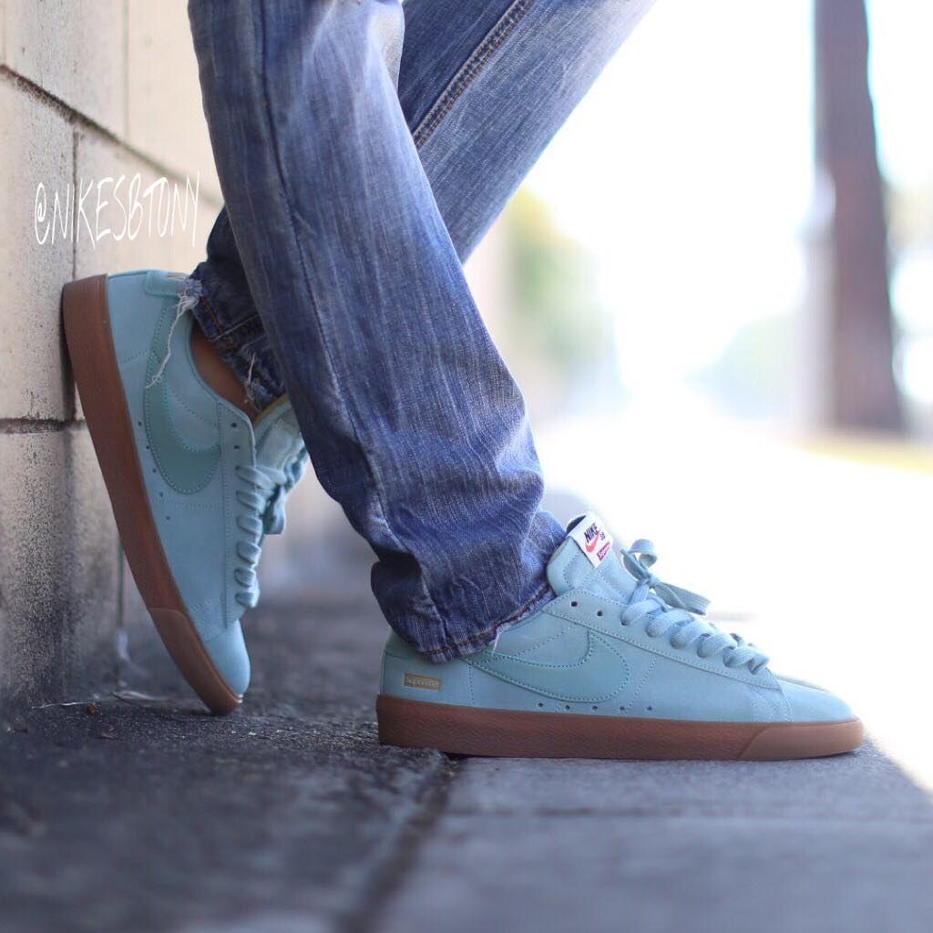 03942a226741 Supreme x Nike Blazer Low GT