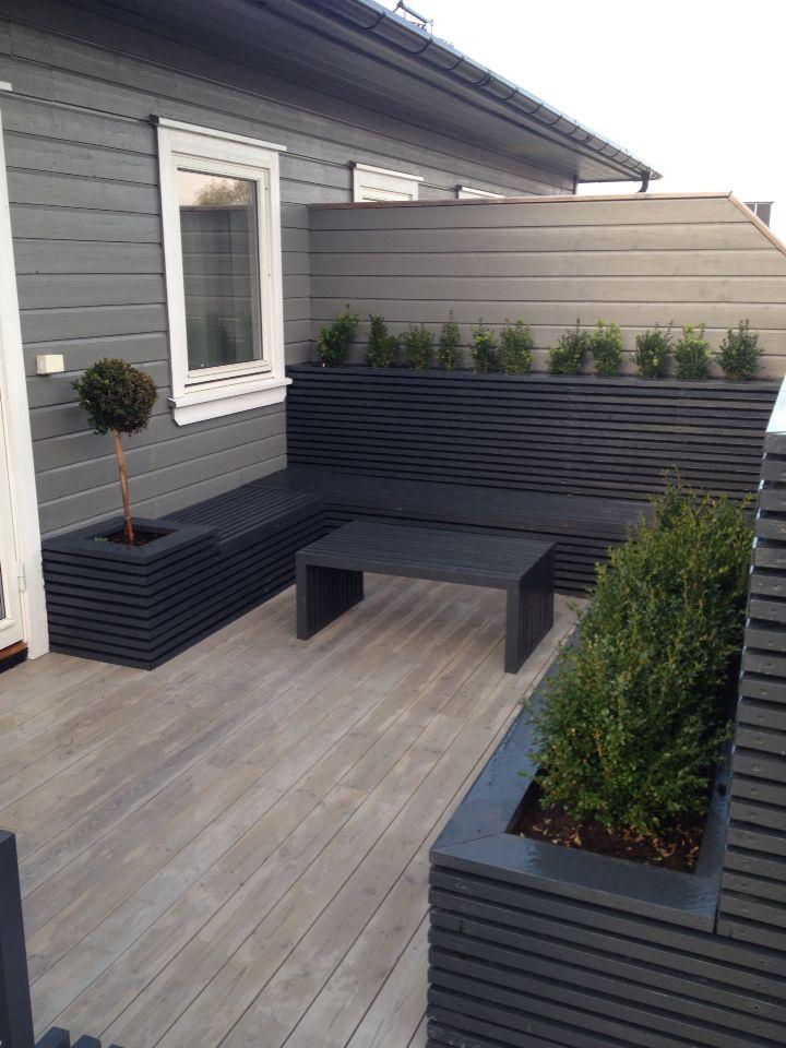 uteplass utomhus pinterest garten terrasse und garten terrasse. Black Bedroom Furniture Sets. Home Design Ideas